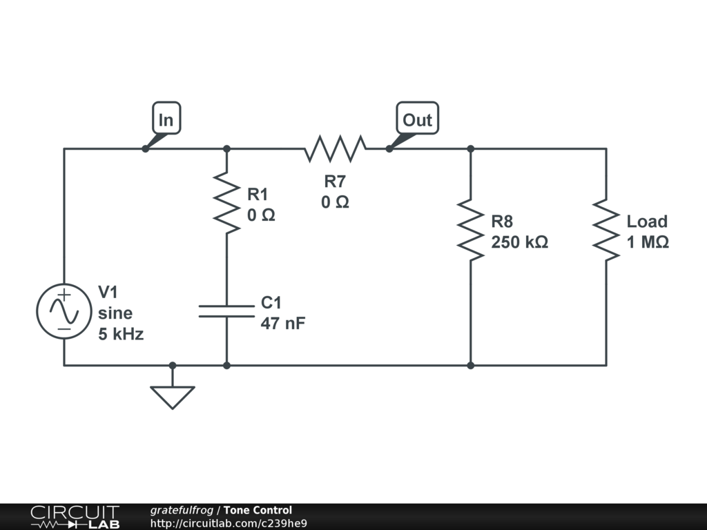 Wiring Diagram For Guitar Tone Control