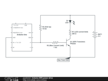 Arduino NPN power drive