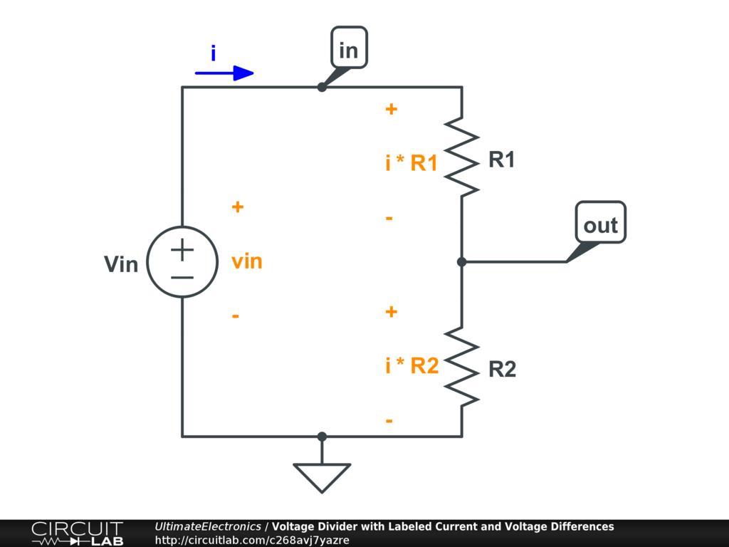Fabulous Voltage Dividers Ultimate Electronics Textbook Wiring Digital Resources Bemuashebarightsorg