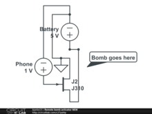Bomb Activator on current regulator design