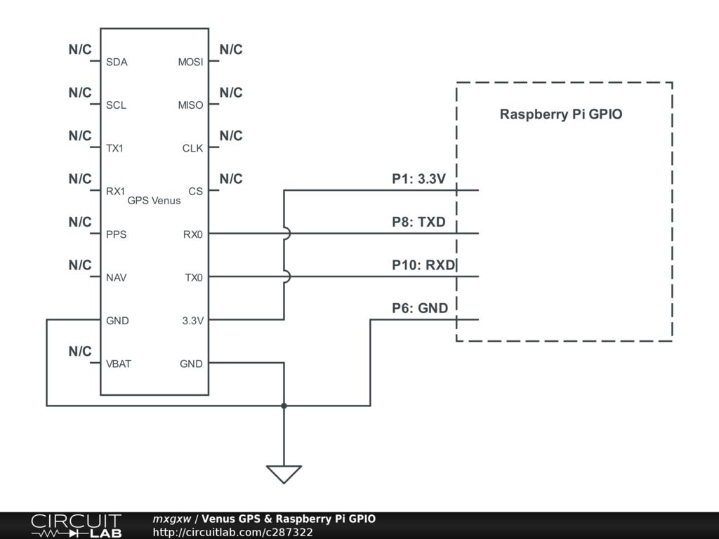 Venus Gps Raspberry Pi Gpio Circuitlab Public Circuits Tagged Quotconstantcurrentquot Circuit