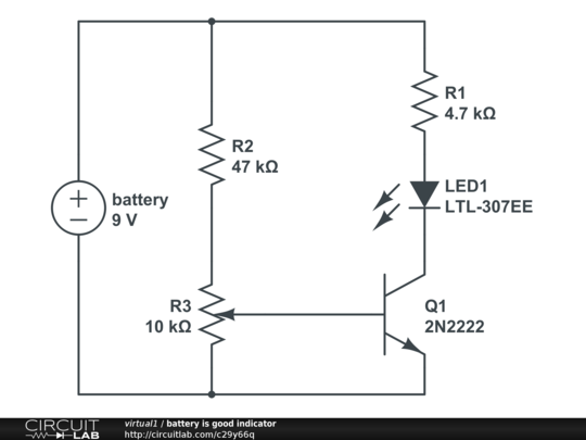 battery is good indicator
