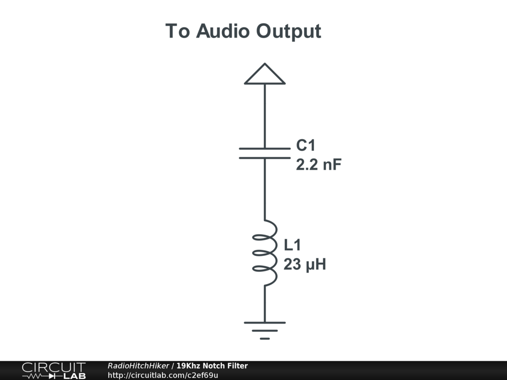 19khz Notch Filter Circuitlab Notchfilter Filtercircuit Basiccircuit Circuit Diagram
