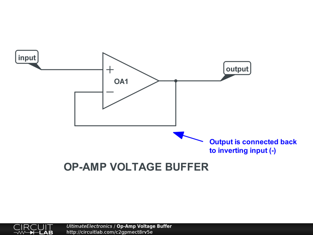 Op-Amp Voltage Buffer