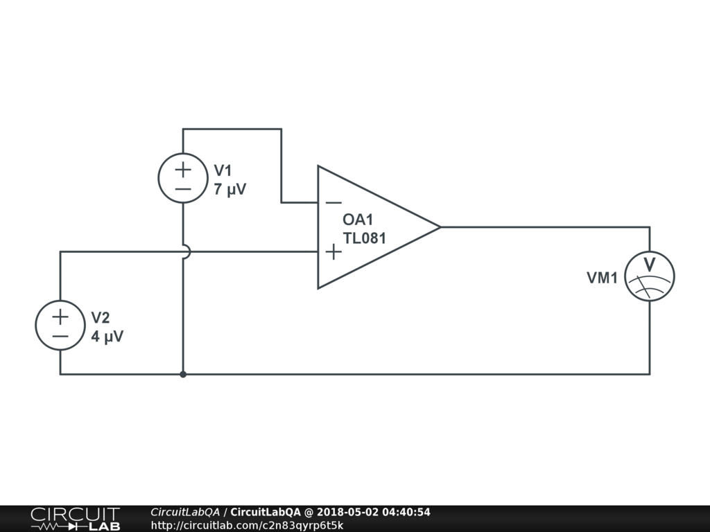 Please Help Op Amp Question Electronics Qa Circuitlab Diagram For A Standard