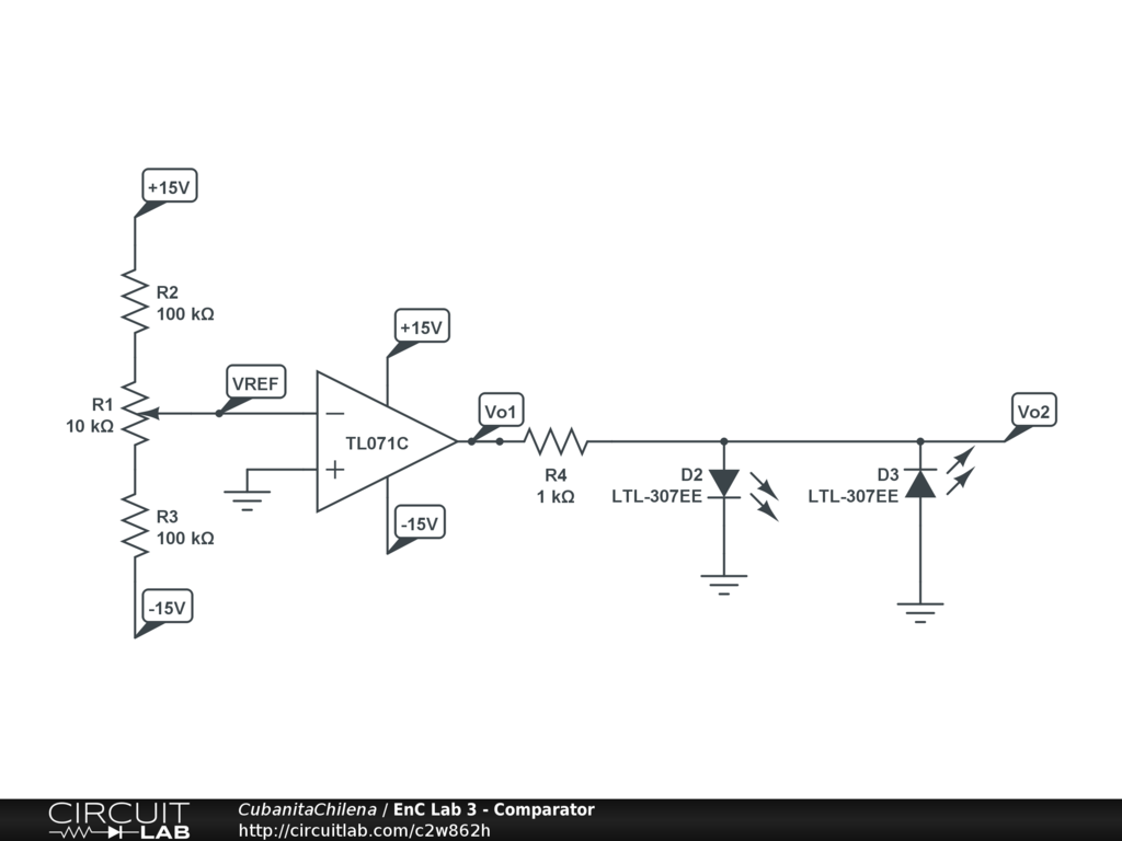 Comparator Using An Op Amp Not Simulating Properly Modeling And Circuit Simulation Descriptions Electronic Circuits Projects