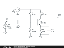 BJT Amplifier Common Emitter