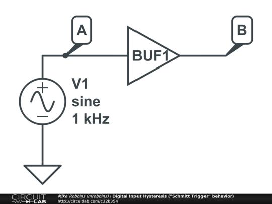 digital input hysteresis   u0026quot schmitt trigger u0026quot  behavior