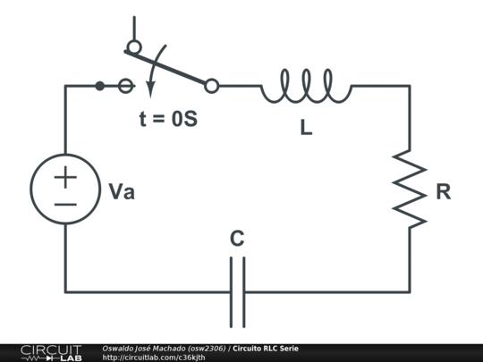 scaricare circuito rlc
