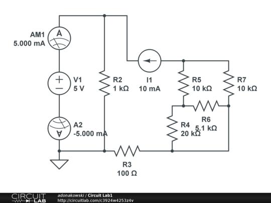 circuit lab1
