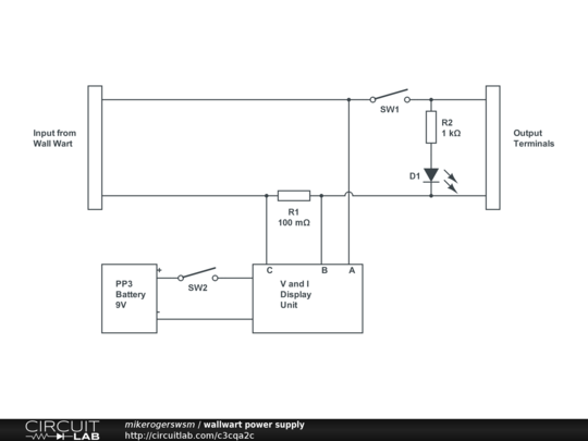 01 Wall Wart Power Supply - CircuitLab Wall Wart Schematic Diagrams on