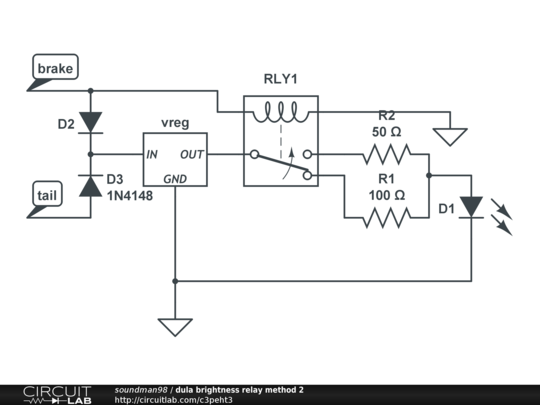 dula brightness relay method 2