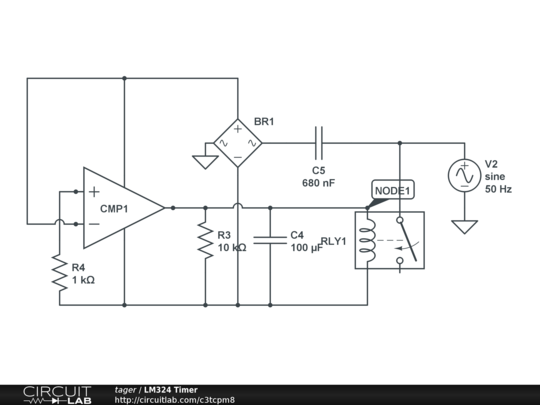 Lm324 Timer Circuit Wiring Diagram For Light Switch