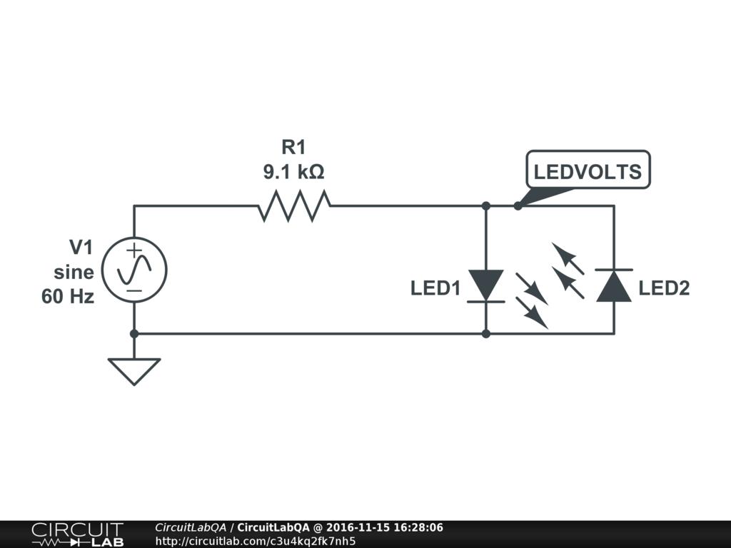 Constant Current Drives Two 3 Watt Ledselectronics Project Circuts