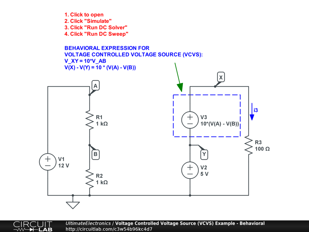 Dependent Controlled Sources Ultimate Electronics Book Circuit Diagramscircuitlab Online Schematic Editor Interactive