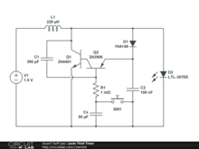 Joule Thief Timer