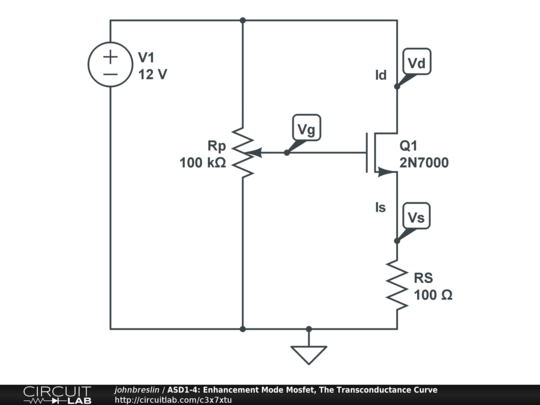 asd1-4  enhancement mode mosfet  the transconductance curve