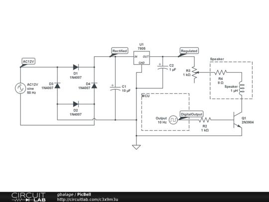 Doorbell schematic (https://www.circuitlab.com/circuit/3x9m3u/doorbell/)