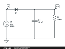 Diode and Capacitor