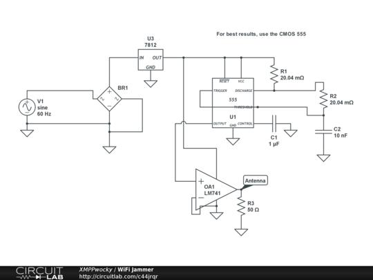 wifi jammer circuitlab Power Wiring Diagram description