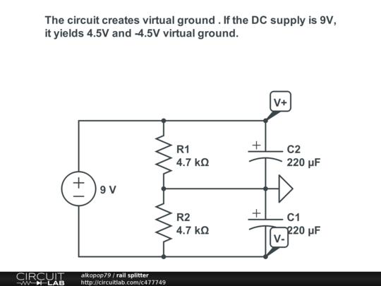 rail splitter circuitlab rh circuitlab com rail splitter schematic mosfet Triton Rail Splitter