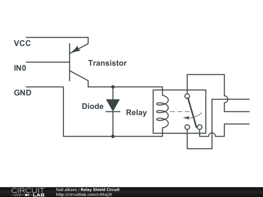 relay shield circuit
