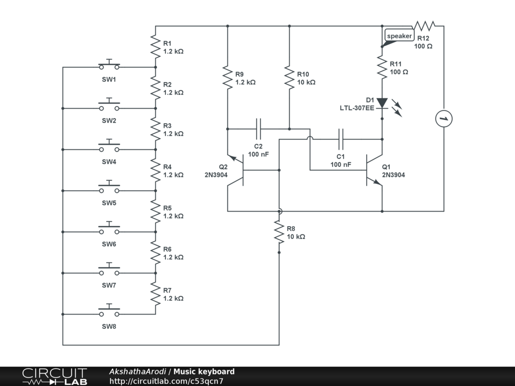 Electronic Keyboard Circuit Diagram Auto Electrical Wiring Usb Images Gallery