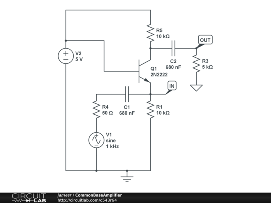 commonbaseamplifier