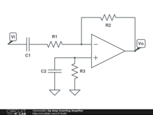 Op Amp Inverting Amplifier