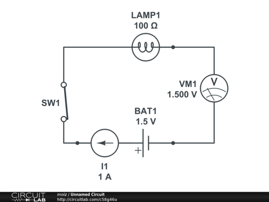 a simple bulb circuit