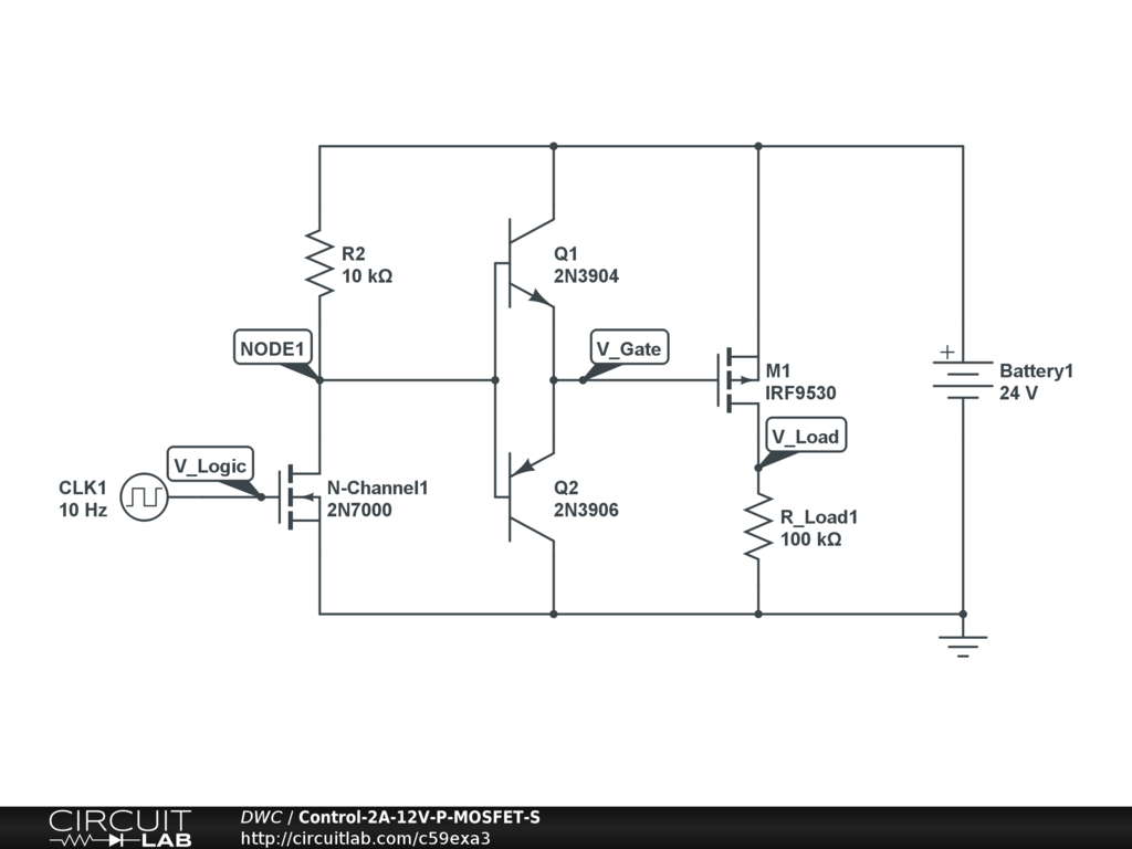 Control 2 Amps of 12 Volts with a digital signal - Power Electronics