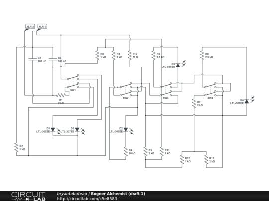 bogner alchemist (draft 1) - circuitlab bogner schematic #5