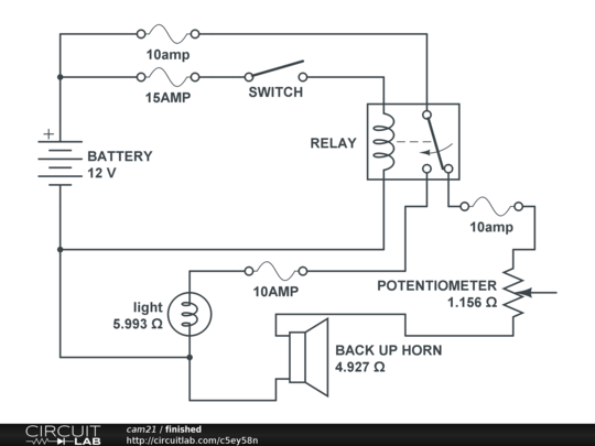 Begin This Is The Schematic Of The Finished Circuit