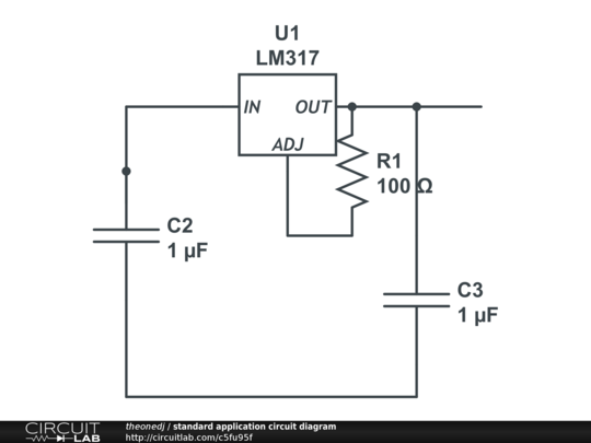standard application circuit diagram