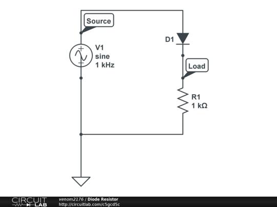 diode resistor
