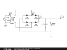 Full-Wave Rectifier w/ Transformer