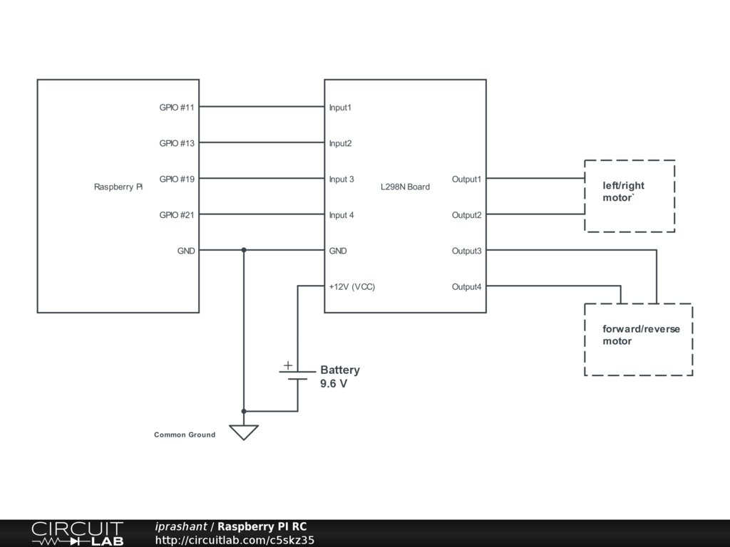 Kaazing Remote Controlling A Car Over The Web Ingredients Rc Wiring Schematic