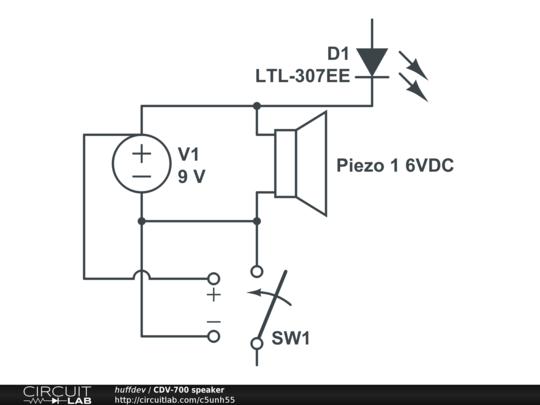 cdv-700 speaker