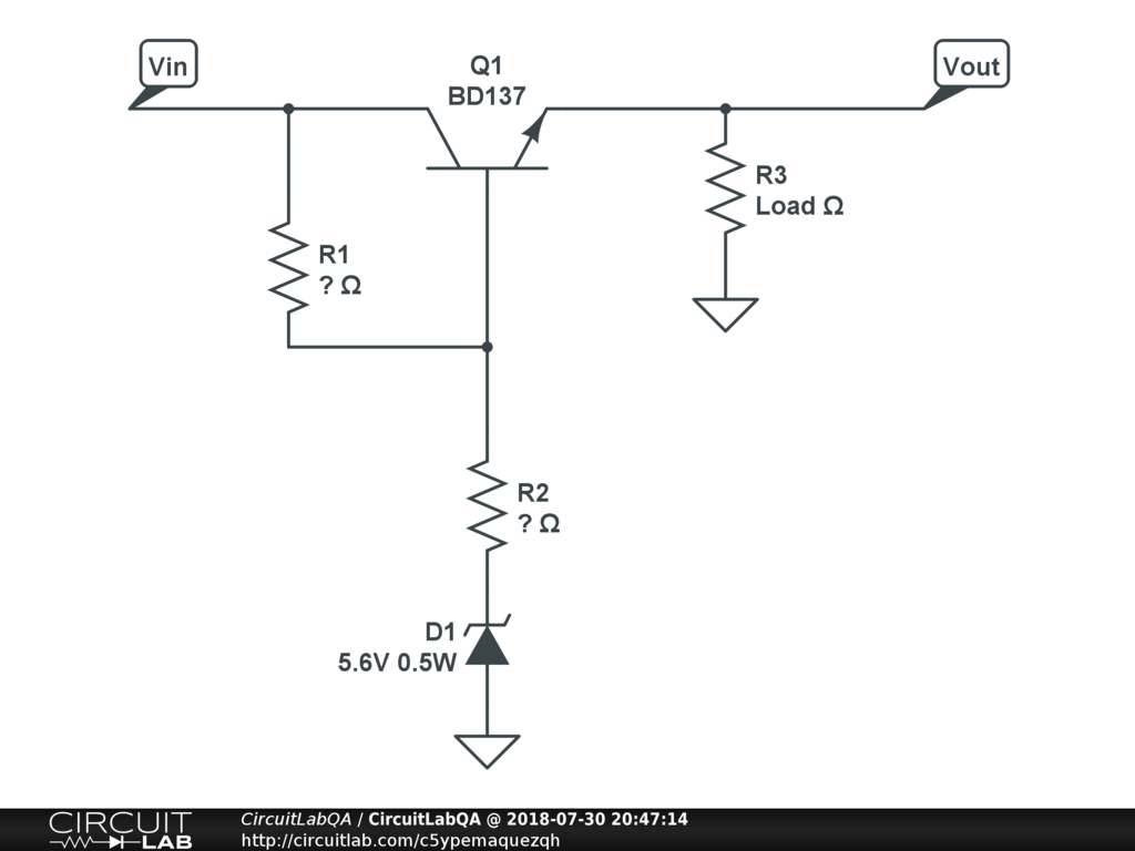 6v Dc Voltage Regulator Electronics Qa Circuitlab Our Schematic
