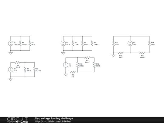 voltage loading challenge