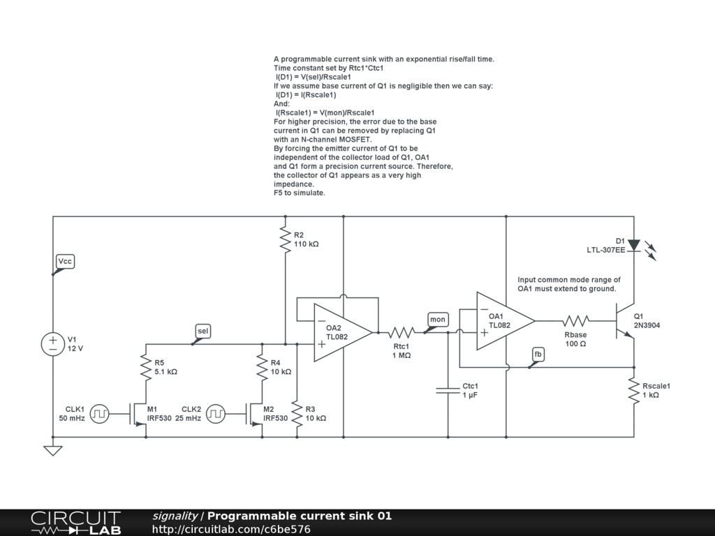 Adding A Soft Start To My Circuit Lm334z Current Regulator 1kh Synthetic Inductor Diagram It