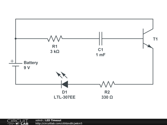 can i use a capacitor and a transistor to create a circuit which rh electronics stackexchange com