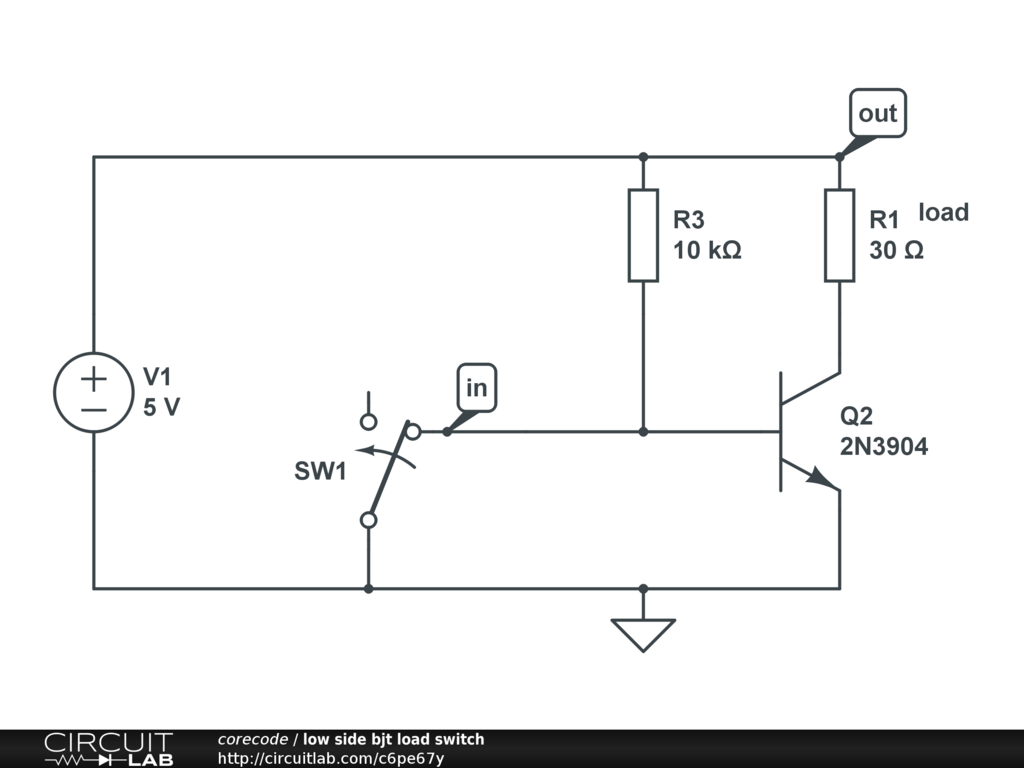 Simulate Draw Over Time With Switch And Transistor Modeling Use Of In A Circuit Then Read
