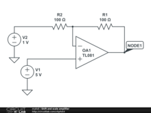 Shift and scale amplifier