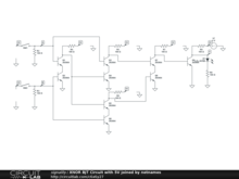 XNOR BJT Circuit with 5V joined by netnames