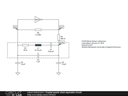 Crystal quartz clock equivalent circuit circuitlab description crystal quartz clock equivalent circuit ccuart Choice Image