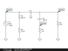 Audio Amplifier Output