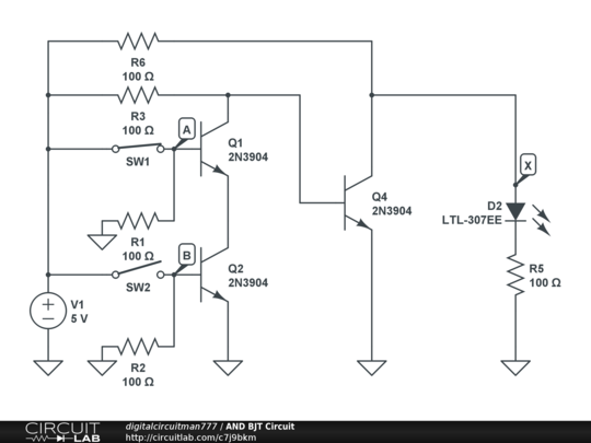 and bjt circuit