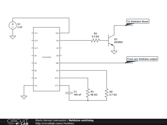 a simple watchdog for the netduino highfield tales