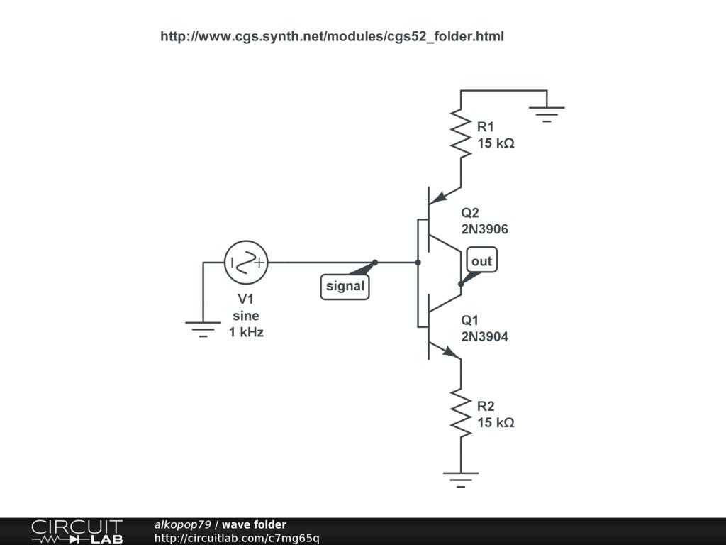 Public Circuits Tagged Synth Circuitlab 555 Triangle Waveform Generator Circuit Wave Folder
